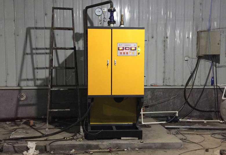香蕈实业100KW蒸汽锅炉