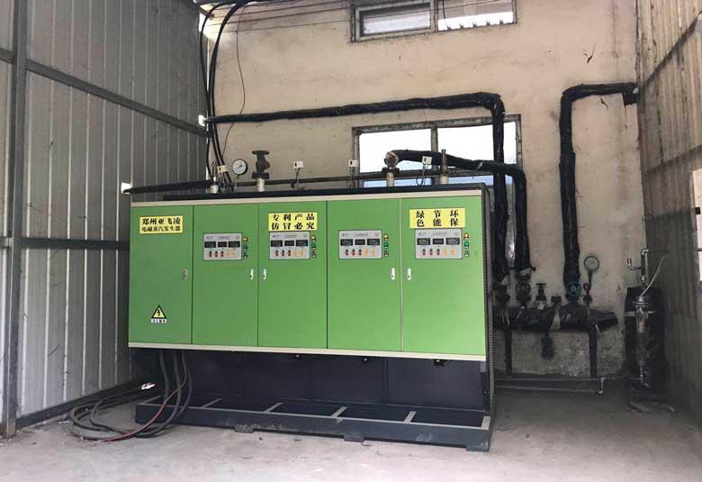 焦作木业公司400KW蒸汽锅炉