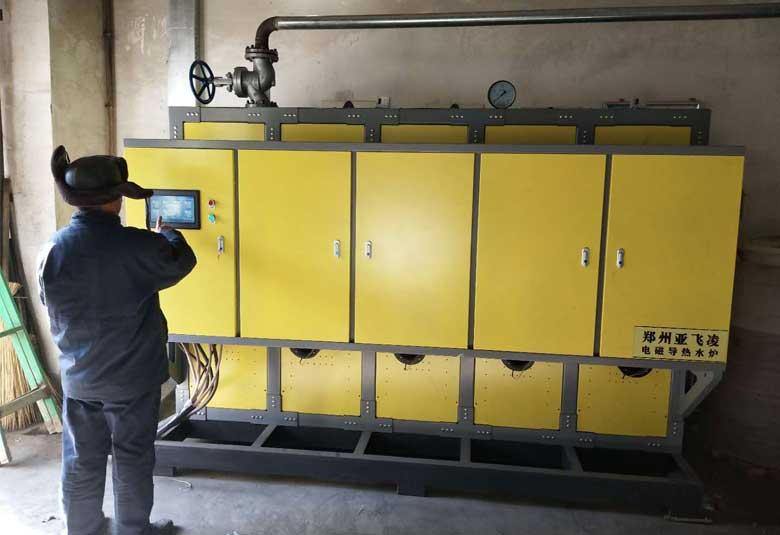 榆林山水水泥有限公司400KW热水锅炉取暖项目