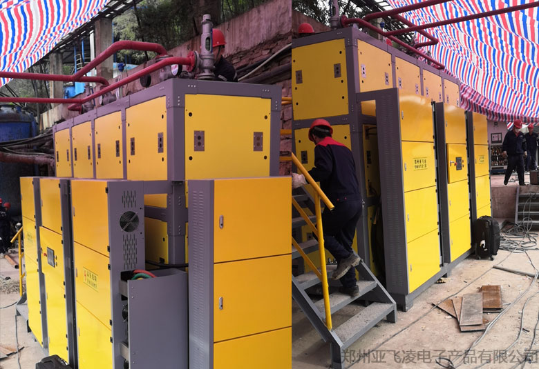 陕西榆林五洲矿业1000KW威ni斯人登录蒸汽锅炉项目