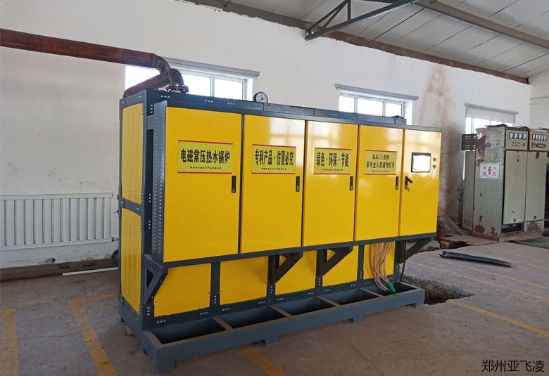 新疆塔城1万平采暖800KW电磁热水锅炉项目