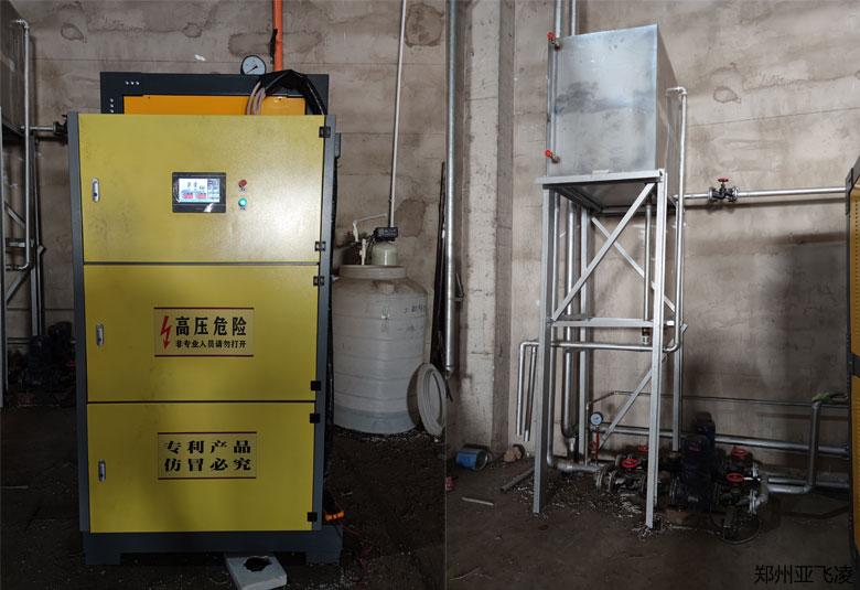 呼和浩特采暖150KW电热水锅炉项目